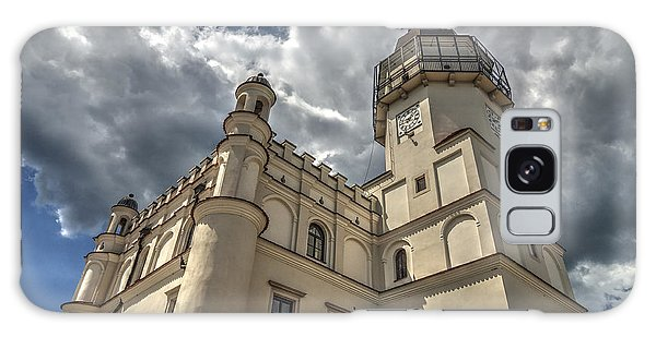 The Renaissance Town Hall In Szydlowiec In Poland Seen From A Different Perspective Galaxy Case by Julis Simo