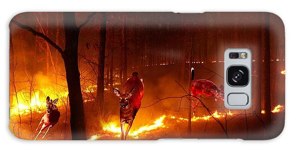 The Ring Of Fire Galaxy Case by Bill Stephens