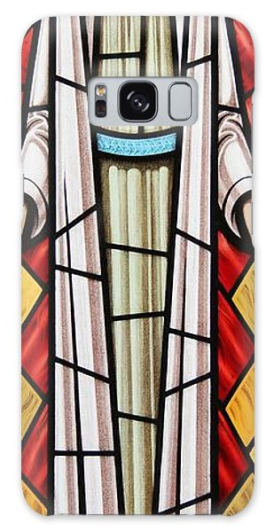 The Risen Christ Galaxy Case by Gilroy Stained Glass