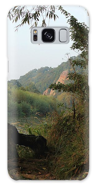The River Severn Through Bridgnorth Galaxy Case