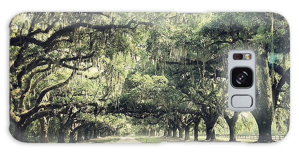 The Road From Boone Hall Galaxy Case