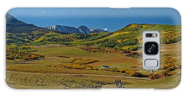 The Road Home In Colorado Galaxy Case
