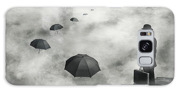 Surrealism Galaxy S8 Case - The Road Less Traveled by Alain Villeneuve