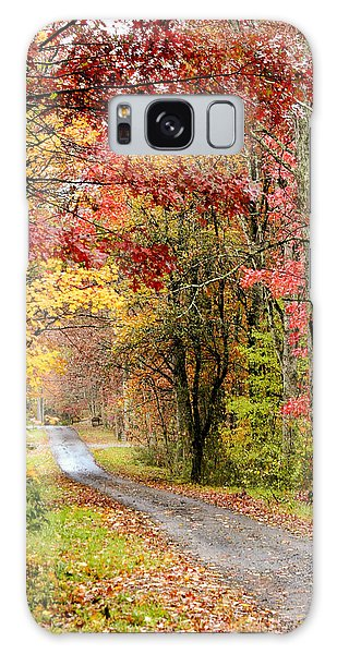 The Road Through Fall Galaxy Case