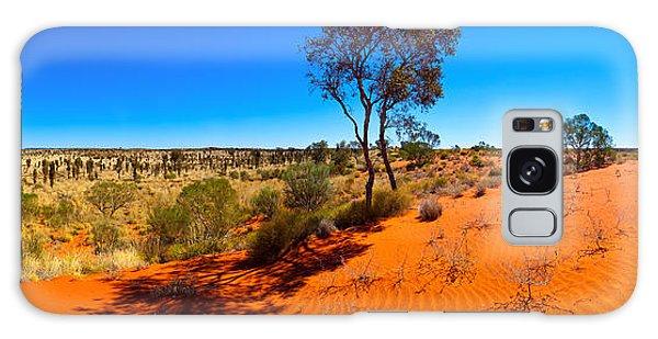 The Road To Uluru Galaxy Case by Bill  Robinson