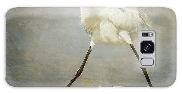 Egret Galaxy Case - The Rock Star by Alfred Forns