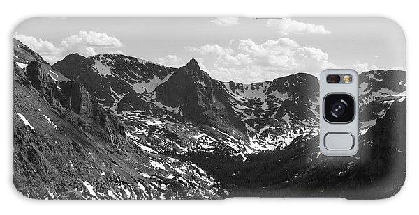 The Rockies Monochrome Galaxy Case by Barbara Bardzik