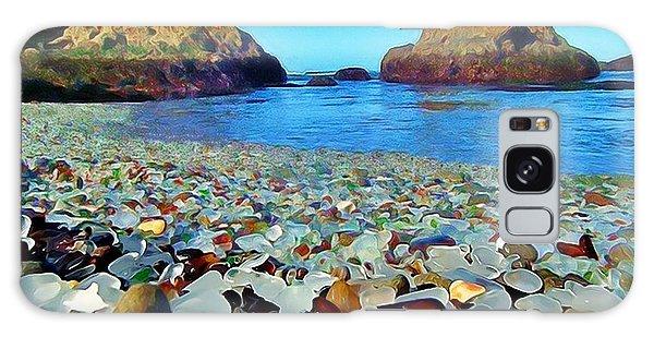 Glass Beach In Cali Galaxy Case
