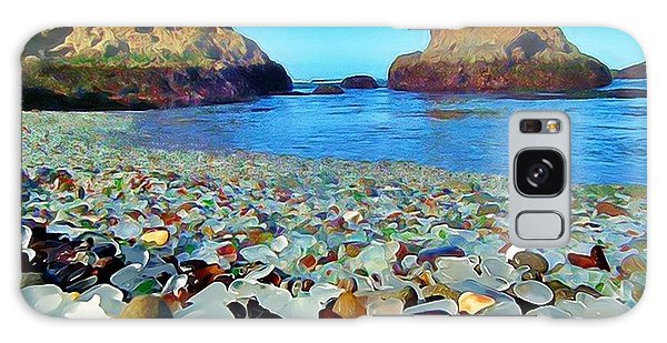 Glass Beach In Cali Galaxy Case