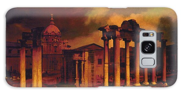 The Roman Forum Galaxy Case by Blue Sky
