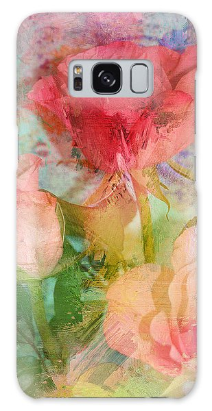 The Romance Of Roses Galaxy Case by Carla Parris