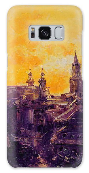 The Roofs Of Lublin Galaxy Case