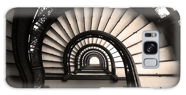 The Rookery Staircase In Sepia Tone Galaxy Case