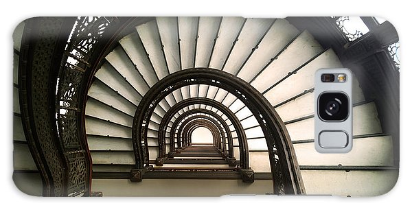 The Rookery Staircase Lasalle St Chicago Illinois Galaxy Case