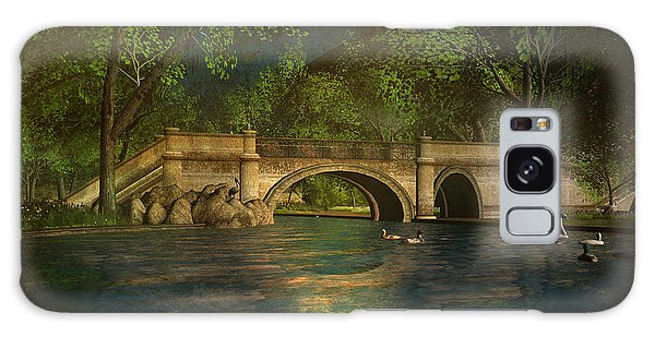 The Rose Pond Bridge 06301302 - By Kylie Sabra Galaxy Case