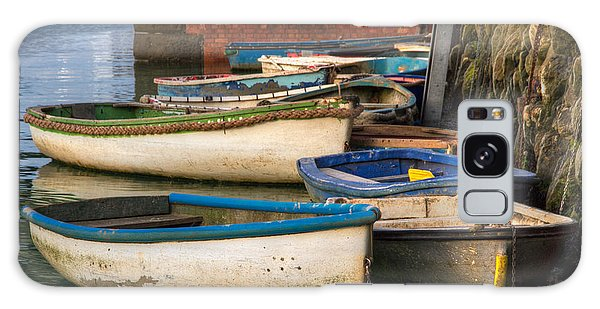 The Rowboats Of Folkestone Galaxy Case by Tim Stanley