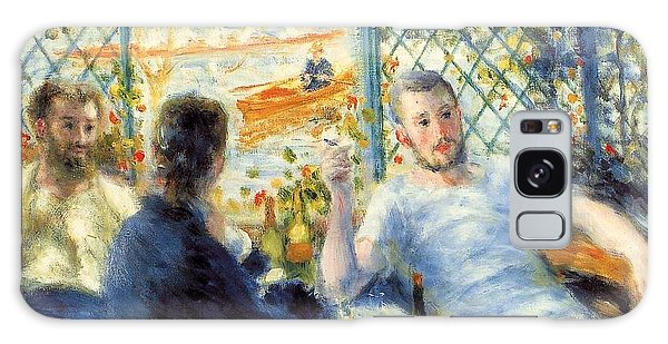 Art Institute Galaxy Case - The Rower's Lunch by Pierre-Auguste Renoir