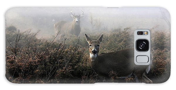 White-tailed Deer Galaxy Case - The Rut In On - White-tailed Deer by Jim Cumming