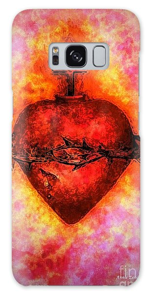 The Sacred Heart Of Jesus Christ Galaxy Case