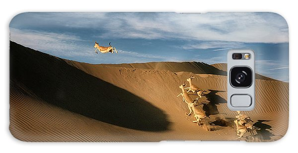 Sand Dunes Galaxy Case - The Sand Gazelle. by Wael Onsy