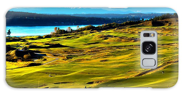 The Scenic Chambers Bay Golf Course - Location Of The 2015 U.s. Open Tournament Galaxy Case by David Patterson