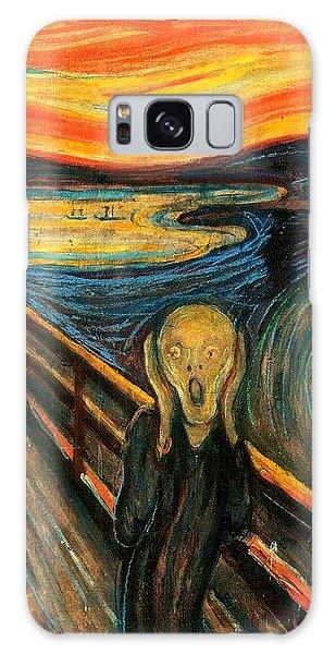 The Scream Edvard Munch 1893                    Galaxy Case