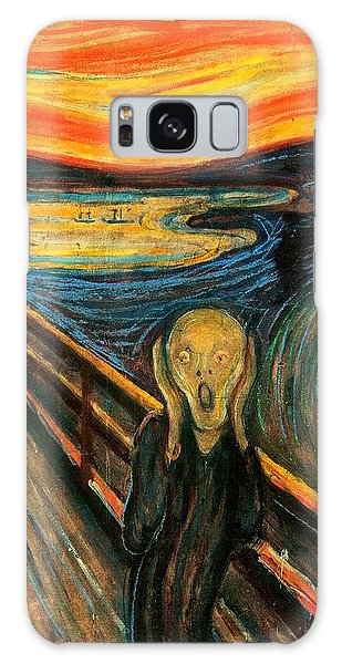 The Scream Edvard Munch 1893                    Galaxy Case