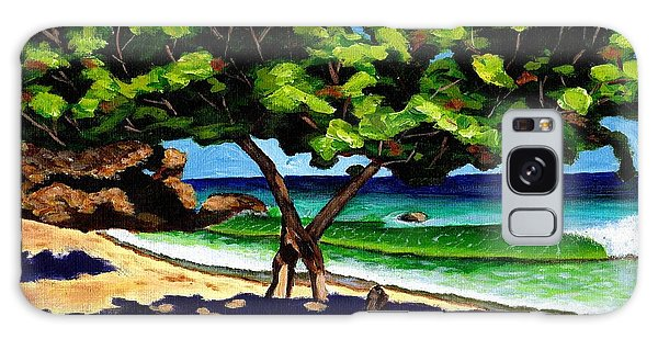 The Sea-grape Tree Galaxy Case by Laura Forde
