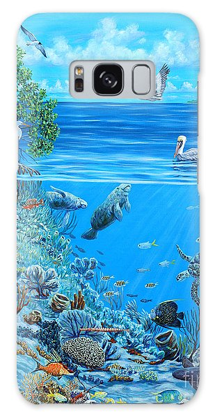 Mangrove Snapper Galaxy Case - The Sea Is Calling by Danielle  Perry
