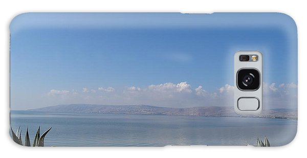The Sea Of Galilee At Capernaum Galaxy Case