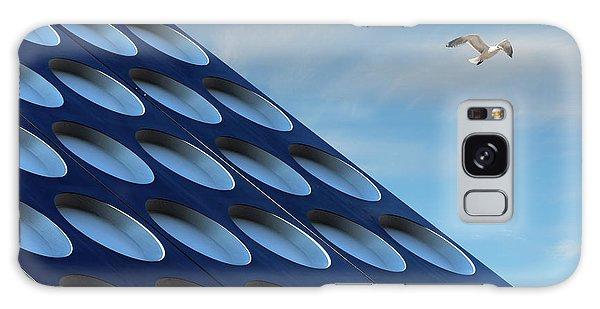 Seagulls Galaxy Case - The Seagull by Henk Van Maastricht