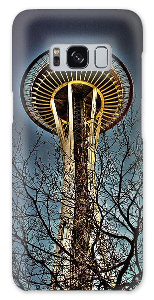 The Seattle Space Needle Iv Galaxy Case