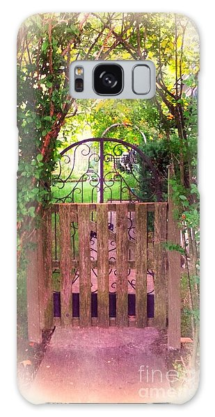The Secret Gardens Gate Galaxy Case