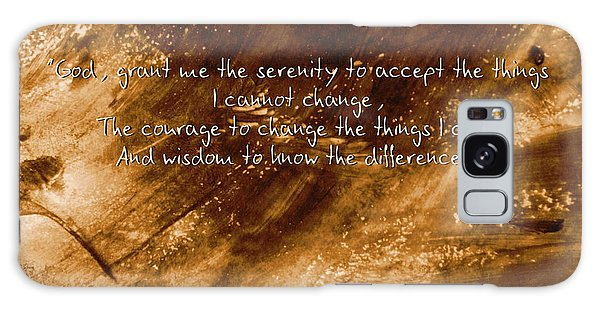 The Serenity Prayer 1 Galaxy Case