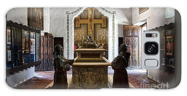 The Serra Cenotaph In Carmel Mission Galaxy Case by RicardMN Photography