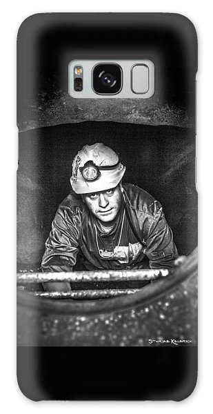 Galaxy Case featuring the photograph The Sewer Guy by Stwayne Keubrick