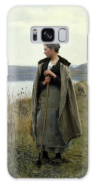 The Shepherdess Of Rolleboise Galaxy Case