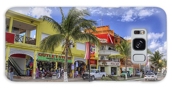 The Shops Of Cozumel Galaxy Case