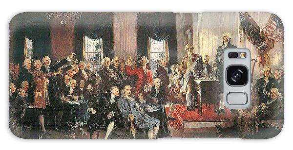 The Signing Of The Constitution Of The United States In 1787 Galaxy Case