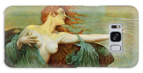 Folklore Galaxy Case - The Siren Sings Her Song,  Luring by Mary Evans Picture Library