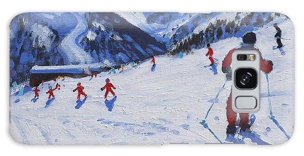 Sport Galaxy Case - The Ski Instructor by Andrew Macara