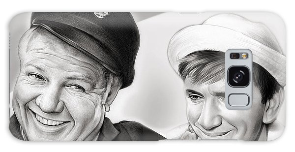 The Skipper And Gilligan Galaxy Case by Greg Joens