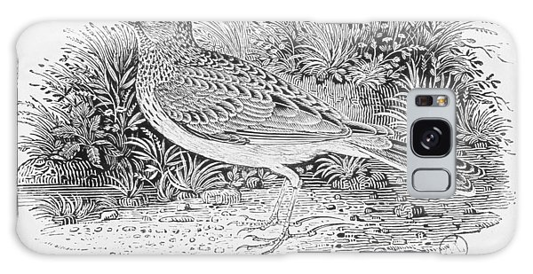 Song Bird Galaxy Case - The Skylark Alauda Arvensis From The History Of British Birds Volume I, Pub. 1797 Wood Engraving by Thomas Bewick