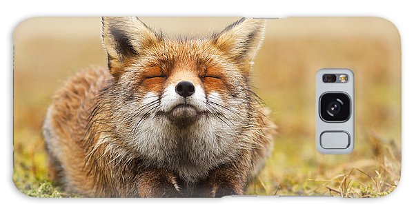 The Smiling Fox Galaxy Case by Roeselien Raimond