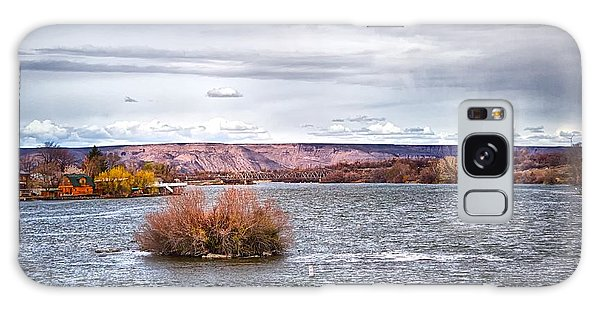 The Snake River Near Hagerman Idaho Galaxy Case by Michael Rogers