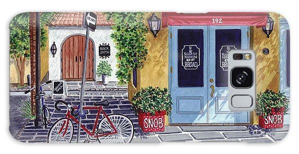 The Snob Restaurant Galaxy Case by Val Miller