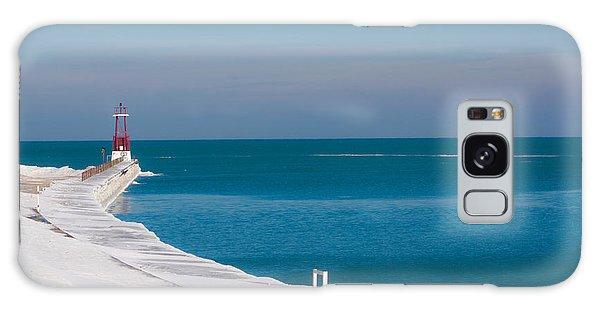 The Snow Swept Michigan Galaxy Case by Dawn Romine