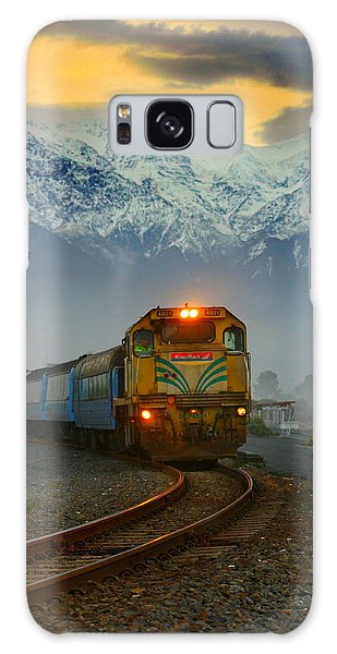 The Southerner Train New Zealand Galaxy Case