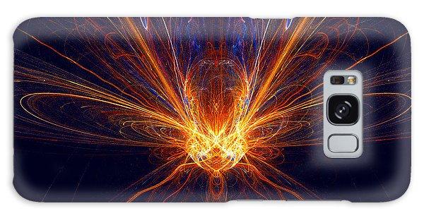 The Spectacular Digital Firefly Galaxy Case