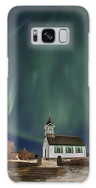The Spirit Of Iceland Galaxy Case